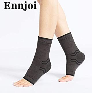 HealthyNeeds ENNJOI one pair Nylon Safety Ankle Support Gym Running Protection Accessory Elastic