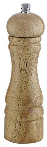 FACKELMANN 55401 Stoha Salz und Pfeffermühle Holz, 18 cm, hell Basic