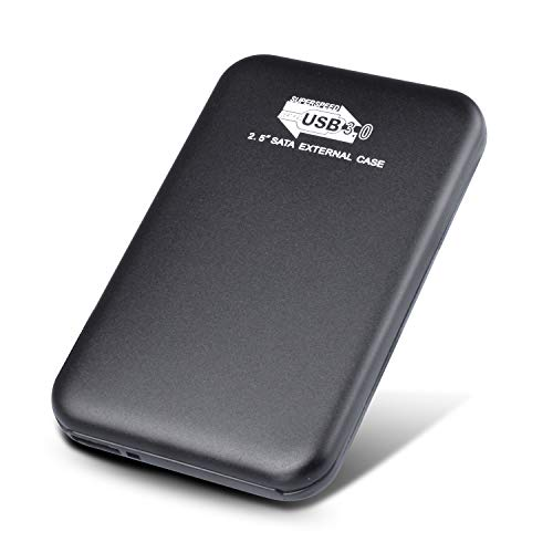 Prode 2 TB Hard Disk Esterno Portatile USB 3.0 Hard Disk Esterno per PC, Mac, Windows, Apple, Xbox One, Xbox (2tb, Nero)