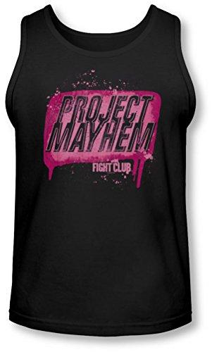 Fight Club - - Project Mayhem Débardeur Homme, Large, Black