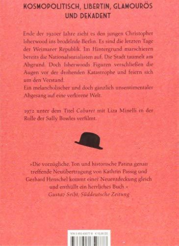Christopher Isherwood: Leb wohl, Berlin - 2