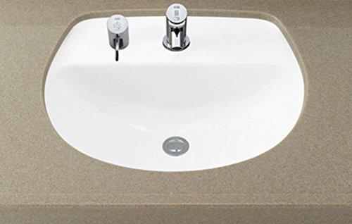 LIXIL(リクシル) INAX 洗面器 アンダーカウンター式 ピュアホワイト L-2094FC/BW1