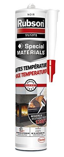 Rubson Mastic Hautes Températures 280 ml Noir