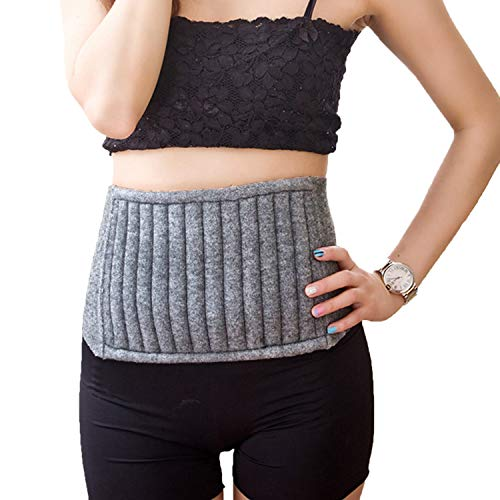 RUIXIB Winter Kaschmir Nierenwärmer Rückenwärmer Bauchwärmer Elastisch Taille Unterstützung Leibwärmer Warm Beschützer Gürtel Band Wärmegürtel für Rückenschmerzen Hexenschuss Menstruationsbeschwerden