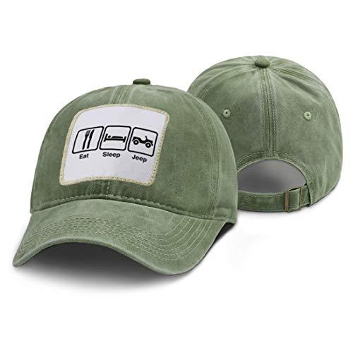 JXWH Men's and women's baseball caps washed retro hats fashion casual trucker hats summer adjustable rebound caps unisex baseball caps 51-57