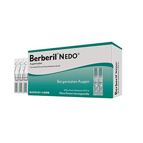 Berberil N EDO Augentropfen bei gereizten Augen, 10 St. Einzeldosispipetten