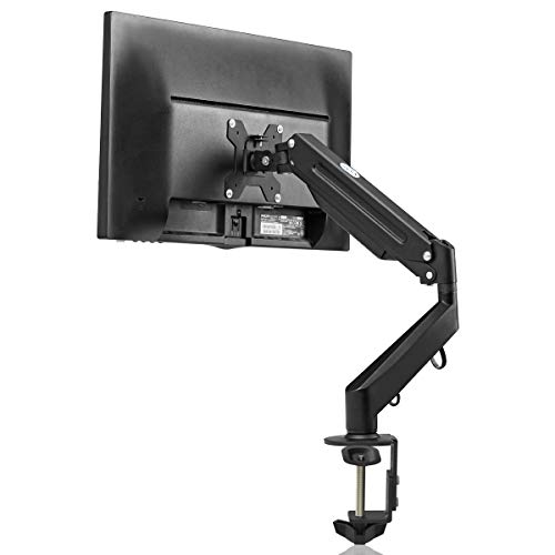 """Suptek Soporte Monitor de PC para Pantallas de 17-27"""" - Montaje de Escritorio de Resorte de Gas - VESA 75mm y 100mm - Peso a 6kg (MD8)"""