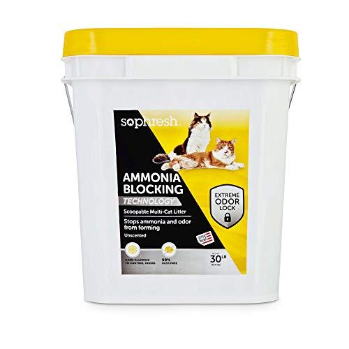 So Phresh Ammonia Blocking Scoopable Multi-Cat Litter, 30 lbs.