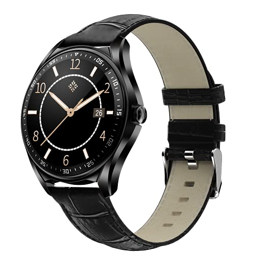 shjjyp Reloj Inteligente Hombre Reloj Inteligente Pulsera Actividad con Fitness Tracker CronóMetro CaloríAs PodóMetro PulsóMetro Monitor De SueñO Ip67 Impermeable Reloj De Fitness para Hombre