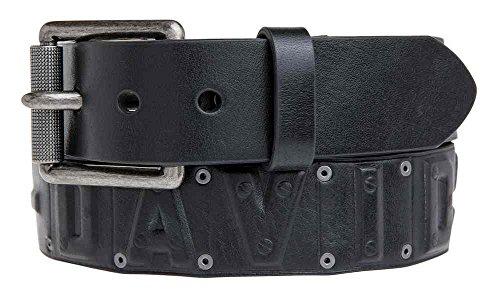 HARLEY-DAVIDSON Details zu HD Ledergürtel schwarz Anarchy Belt hochwertig HDMBT10854BLK (34)
