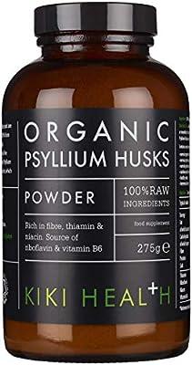 Kiki Health Organic Psyllium Husk, 275 g by Kiki Health