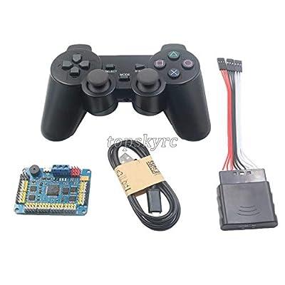FidgetGear 32 Channel Servo Control Board & PS2 Handle Controller & Receiver for RC Robot