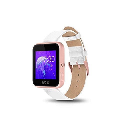 "SPC Smartee Slim - Smartwatch de 1.54"" (IPS, Linux, Bluetooth 4.0 BLE), Rosa Dorado"