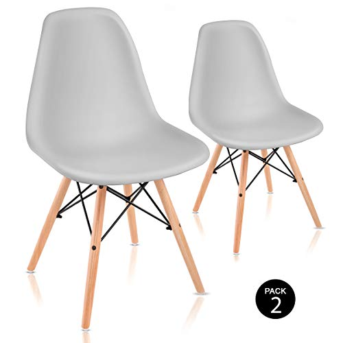 Mc Haus SENA - Pack 2 Sillas Comedor con diseño...