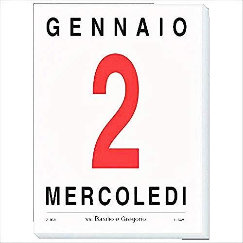 notabene 207 Comune Diritto Calendario A Strappo, Blocco Da Muro 2019, 5,8 x 8.5 cm