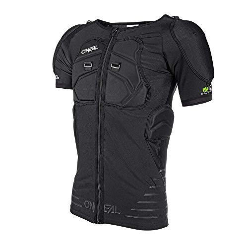O'NEAL | Protektoren-Jacke | Motocross Enduro Motorrad | Elastisch leichte Protektorenjacke, aus Polyurethan-Schaum, Mesh-Einsatz | STV Short Sleeve Protector Shirt | Erwachsene | Schwarz | Größe M