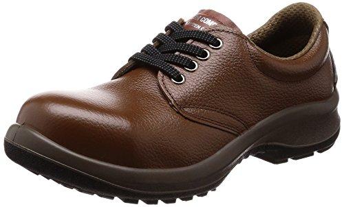 [ミドリ安全] 安全靴 JIS規格 女性用 短靴 プレミアムコンフォート LPM210 ブラウン 23.5 cm 3E