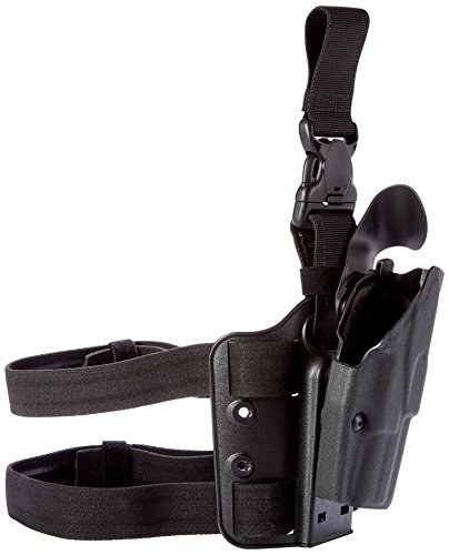 Safariland 6355 ALS Tactical Holster with Quick Release Springfield XD 45-4' Holster, Black, Right