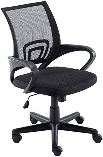 F.T. Sedia Ufficio MOD. Xenia Poltrona sedie operativa direzionale Girevole Regolabile Stoffa