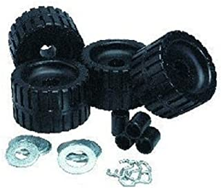 C.E. Smith Ribbed Roller Replacement Kit-4 Pack