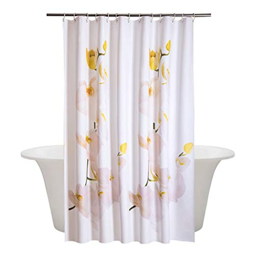 YXN PEVA badkamer douchegordijn waterdichte matrijs gordijn opknoping gordijn verdikking partitie gordijn