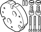 Festo 1718564adaptador Kit, Modelo dhaa-g-q11–25-b13–40
