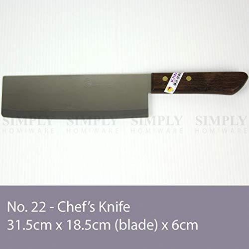"""7.5"""" Chefs Knife, #22, Kiwi"""