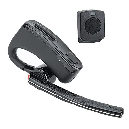 Hopcd Mini Auricular inalámbrico M-Head V4.0 Auricular Bluetooth para Todos los Auriculares M-Plug Walkie Talkie con PTT inalámbrico Conéctese Tanto con walkie Talkie como con teléfono Celular