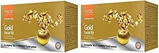 VLCC Gold Facial Kit 2 X 40 g, Pack of 2