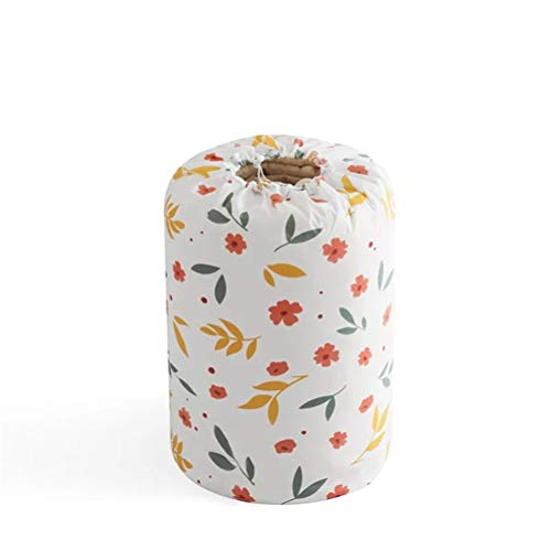 DZHT Bolsa de Almacenamiento Plegable Ropa Manta Edredón Armario Suéter Organizador Caja Bolsas Organizadores de contenedores de Limpieza (Color : Flower)