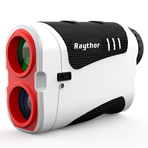 Raythor Pro GEN S2 Tournament Legal Golf Rangefinder for Professional Golfers, Laser Range Finder with Slope & Non Slope Physical Switch, Flag-Lock with Pulse Vibration, Continuous Scan, Rechargeable