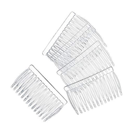 Bulk Buy : Darice Matrice DIY Crafts Cheveux Peignes en plastique transparent 42 x 70 144 pièces Made in the USA 144 pièces (1-Pack) 10078–8