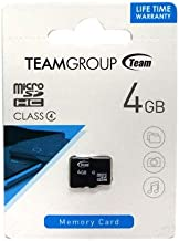 Team Group 4 GB Class 4 Micro SDHC Card