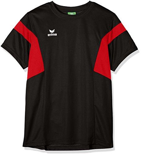 Erima Kinder Classic Team T-Shirt, schwarz/Rot, 140