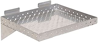 KC Store Fixtures A02020 Slatwall Shelf, 12