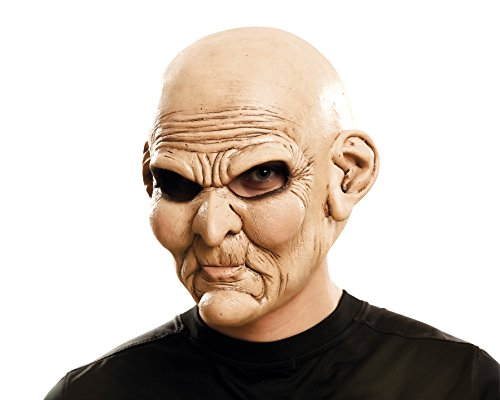 My Autres Me (viving Costumes mom02341) – Psychopathe Old-Man Masque pour Adulte, Taille Unique
