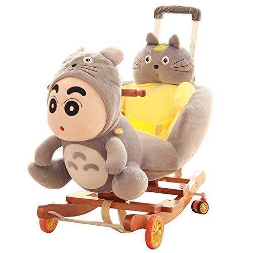 Caballo balancín Silla Mecedora para niños Educación temprana Rocking Horse Baby Baby Baby Cunas...