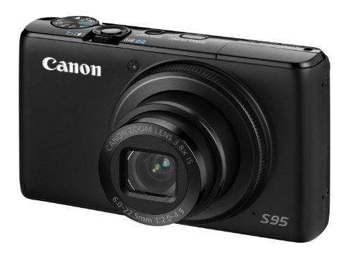 Canon Powershot S95 - Cámara compacta de 10 MP (Pantalla de 3