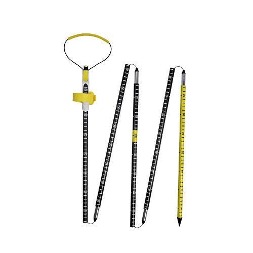 PIEPS Probe Carbon 260 Pro Gelb-Schwarz, Lawinensonde, Größe 260 cm - Farbe Black - Yellow