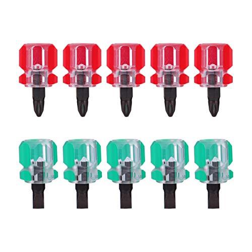 Baluue Mini Destornillador Destornillador de Precisión Juego de Destornilladores para Máquina de Coser Destornillador de Múltiples Bits Destornillador para Reparación de Máquinas
