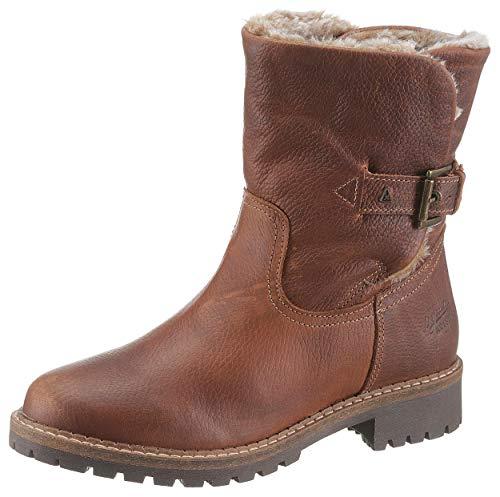 Gaastra Damen LEDRO HIGH TMB FUR W Biker Boots, Braun (Dark Brown 2200), 41 EU