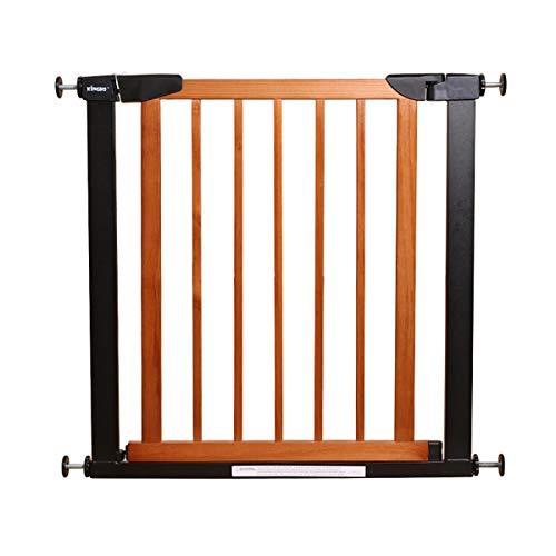 Security gate Treppenschutzgitter , Baby-Kindersicherungstor, Baby-Treppenhaus aus Massivholzzaun, Zaun für Haustierträger, Keine Notwendigkeit zu Bohren, Wechselschalter