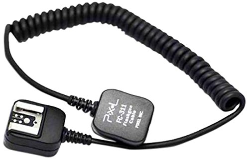 Pixel FC-311/L E-TTL - Cable Extensible extralargo para Flash de cámaras Canon