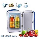 Mini refrigerador portátil de 4 l para frigorífico solar y congelador de 4 °F por compresor, cargador de energía solar/CA/coche para dormitorio o congelador