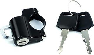 ヘルメットホルダー 22φ用 汎用 ヘルメットロック 盗難防止 カスタム バイク オートバイ ヘルメット