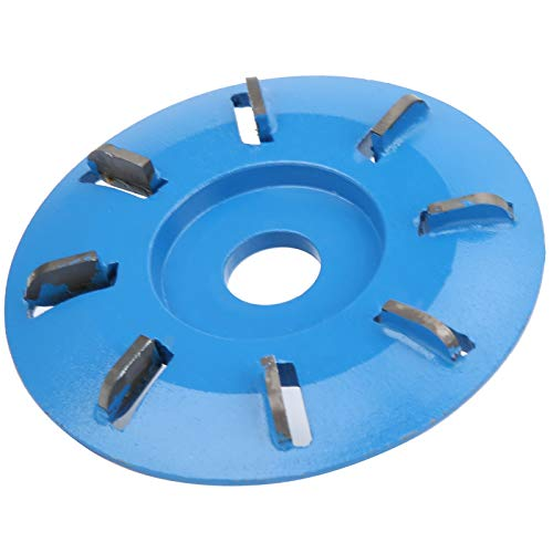 フライス、8歯3.5インチプロフェッショナル実用研削フライス、16mmアパーチャアングルグラインダー木工用