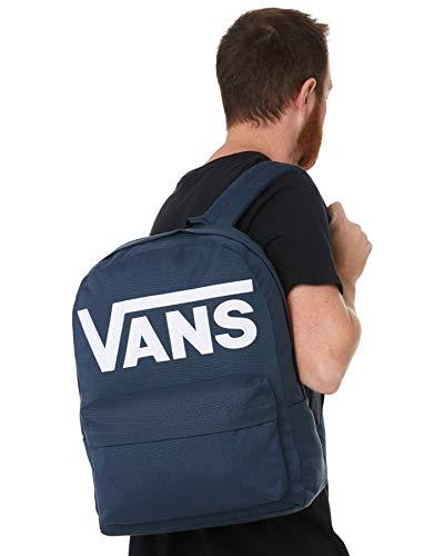 Vans Men's OLD SKOOL III BACKPACK, DRESS BLUES-WHITE, OS