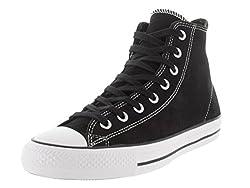 top 10 converse skate shoe Converse CTASPRO HI 144587C_11.5 Men's Skateboarding Shoes – Black / White