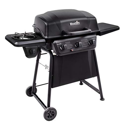 Char-Broil Classic 360 3-Burner Liquid Propane Gas Grill with Side Burner (Renewed) Grills Propane