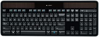 Logitech K750 Solar Tastiera Wireless, Layout Tedesco Qwertz, ‎Nero